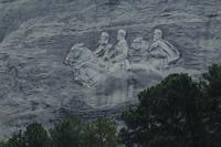 North face of Stone Mountain