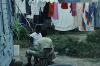 Laundry and street scenes