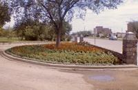Flower Garden in Crescent Park