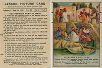 Bible Lesson Picture Card
