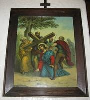 Jesus Stumbles while Carrying the Cross