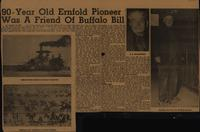 90-Year Old Erfold Pioneer Was A Friend of Buffalo Bull