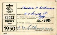 Chaffeur's License