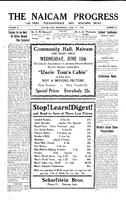 The Naicam Progress June 8, 1932