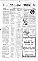 The Naicam Progress July 6, 1932