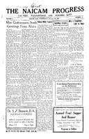 The Naicam Progress October 26, 1932