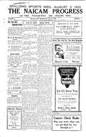 The Naicam Progress July 26, 1933
