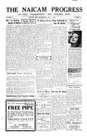 The Naicam Progress November 1, 1933