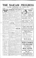 The Naicam Progress April 23, 1930