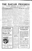 The Naicam Progress April 30, 1930