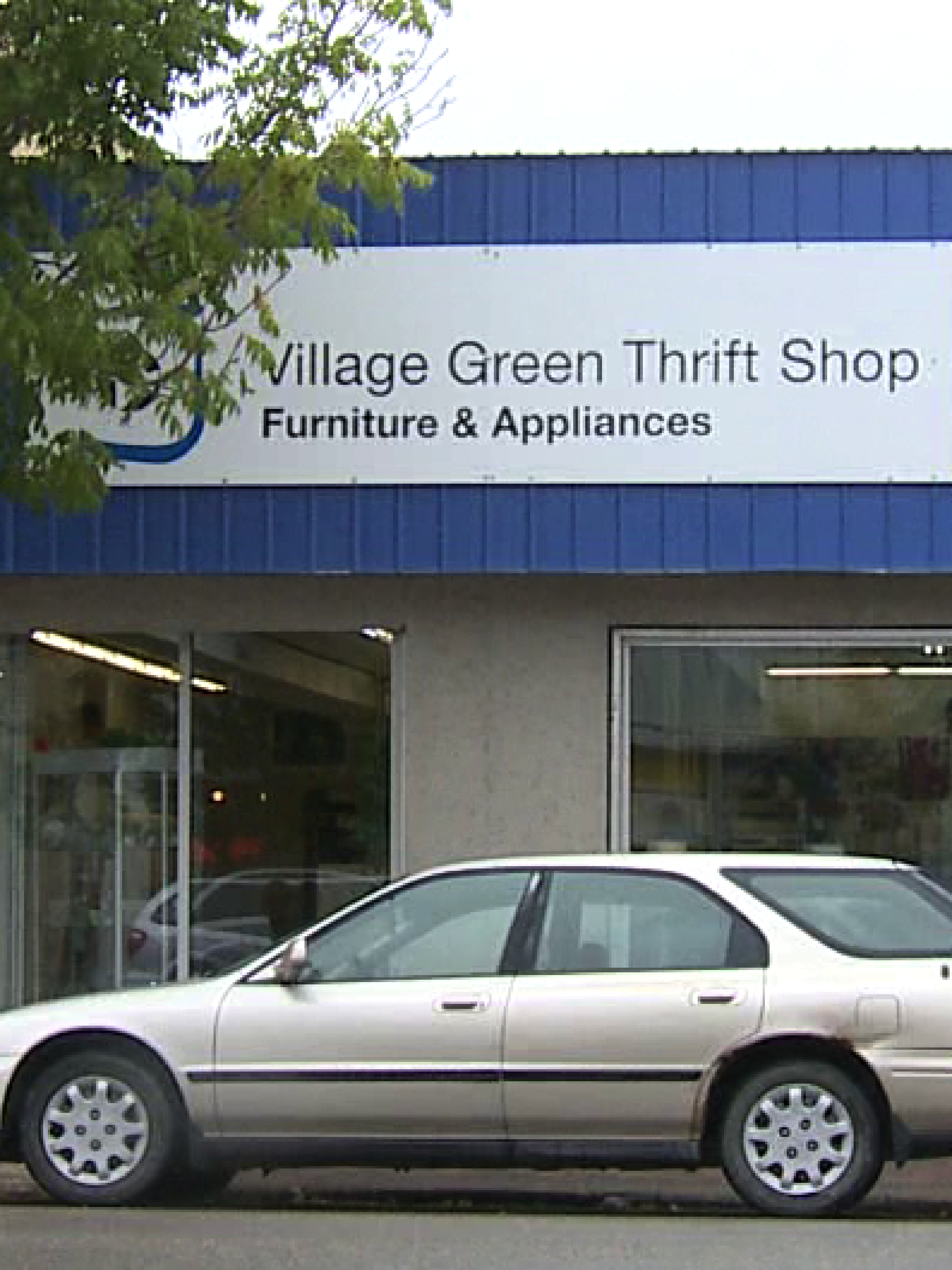 Community Ethics Mennonite Style: Village Green Thrift Shop - Furniture and Appliances