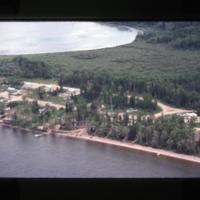 [Lake front settlement]