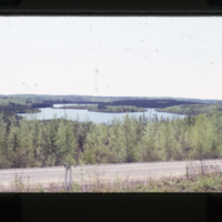 [Lake with road in foreground]