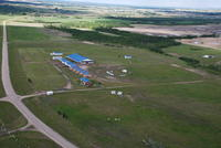 Batoche Heliphoto's and Infinity Flag