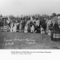 [Women.] Indian Pow-wow Carlyle Mills