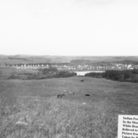 The White Bear Indian Reservation in the Moose Mountain around 1907