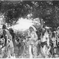 Pow wow at the White Bear Indian Reservation