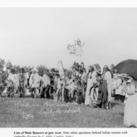 Indian Pow-wow Carlyle Sask. Mills