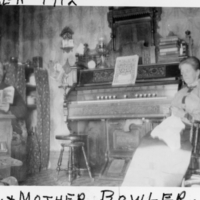 TAKEN 1912 DAD & MOTHER BOWLER.