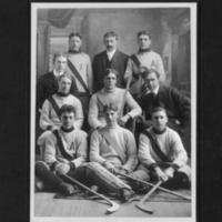 Arcola Hockey Team, 1908