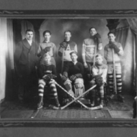 Arcola boys hockey team, 1927-1928