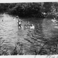 Swimming at Eason's Grove