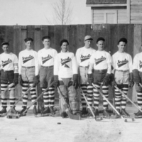 Arcola boys hockey team, 1931