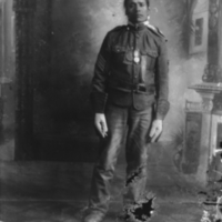 Aboriginal man with gloves