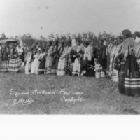 [Women.] Indian Pow-wow