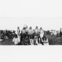 Aboriginal women at a pow wow