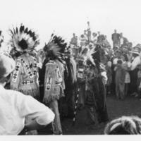 Aboriginal people at the Arcola fair