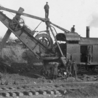 CPR steam shovel