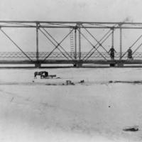 Train bridge over Moose Creek