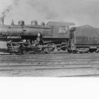 Coal-fired steam locomotive