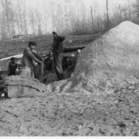 Aboriginal women working at the sawmill