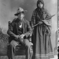 Aboriginal couple
