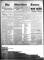 The Advertiser Canora October 1, 1914