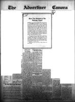 The Advertiser Canora October 8, 1914