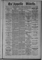 Qu'Appelle Vidette April 16, 1885