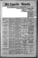 Qu'Appelle Vidette September 23, 1886
