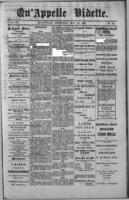 Qu'Appelle Vidette  May 19, 1887