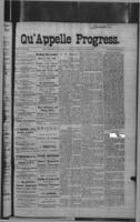 Qu'Appelle Progress November 3, 1887