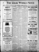 The Craik Weekly News July 30, 1914