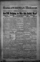 Saskatchewan Herald January 25, 1917
