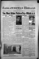 Saskatchewan Herald March 8, 1917