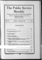 The Public Service Monthly November 1917
