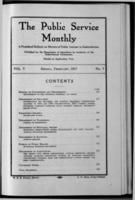 The Public Service Monthly February 1917