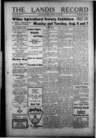The Landis Record July 26, 1917
