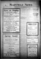 Maryfield News March 29, 1917