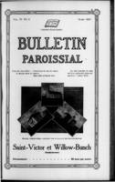 Bulletin Paroissial March, 1917